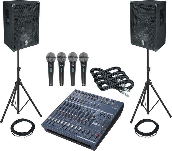 Аренда колонок и микрофона